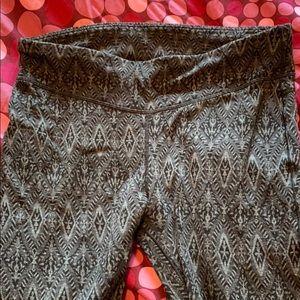 Smartwool leggings black pattern large